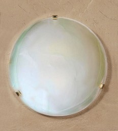 Plafoniera DM.50 Alabastro Verde